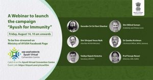 60K Participants!!! Launch of 'AYUSH for Immunity Campaign' receives enthusiastic response in digital space
