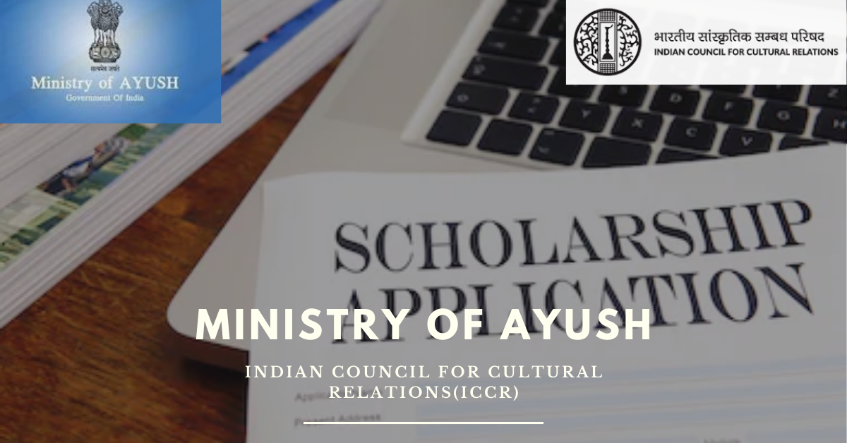 31/08/2020,Last date of Application of Fellowship/Scholarship by Ministry of AYUSH
