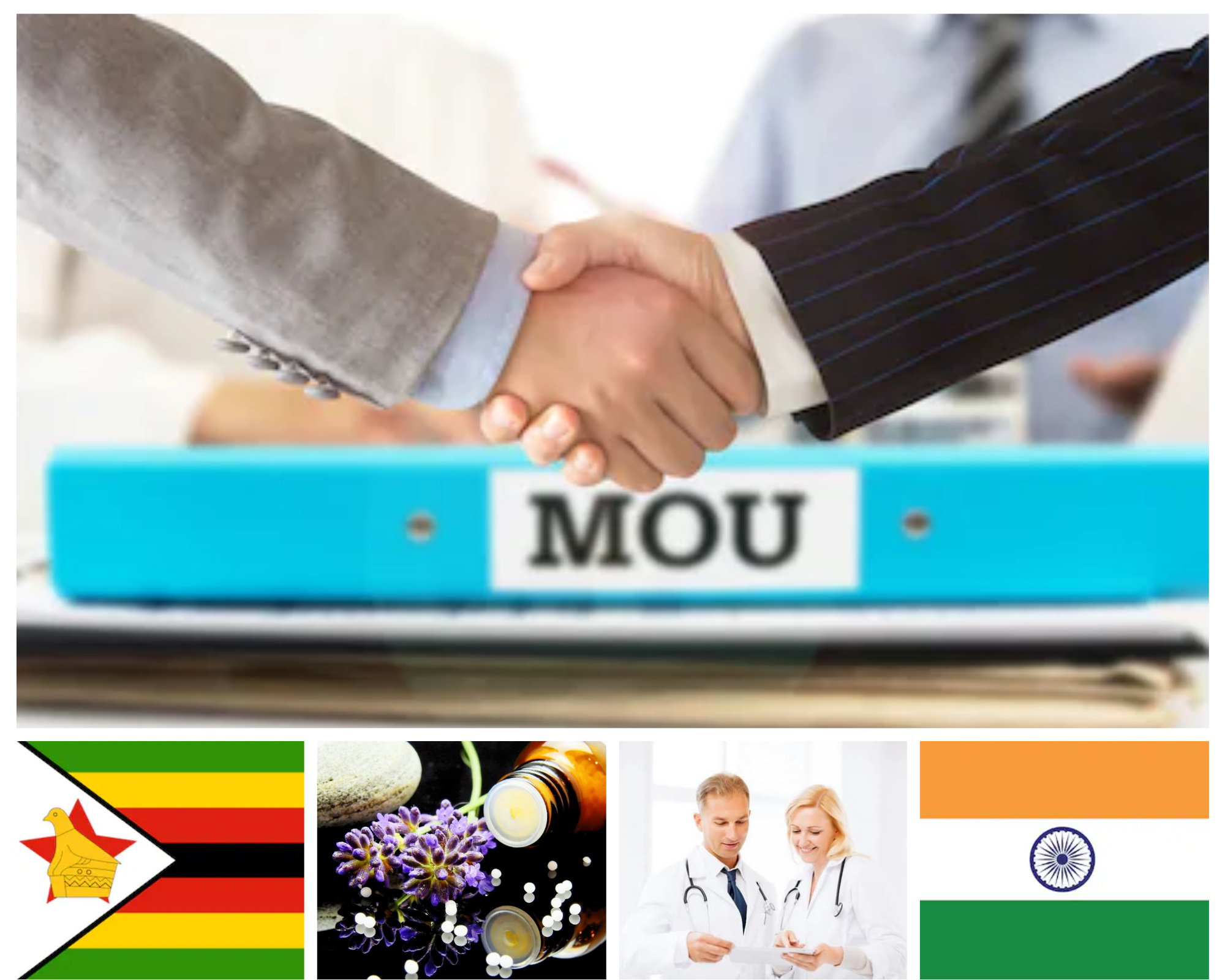 You are currently viewing MoU Between India & Zimbabwe on Cooperation in Traditional Medicine, Homeopathy- Get Cabinet Approval
