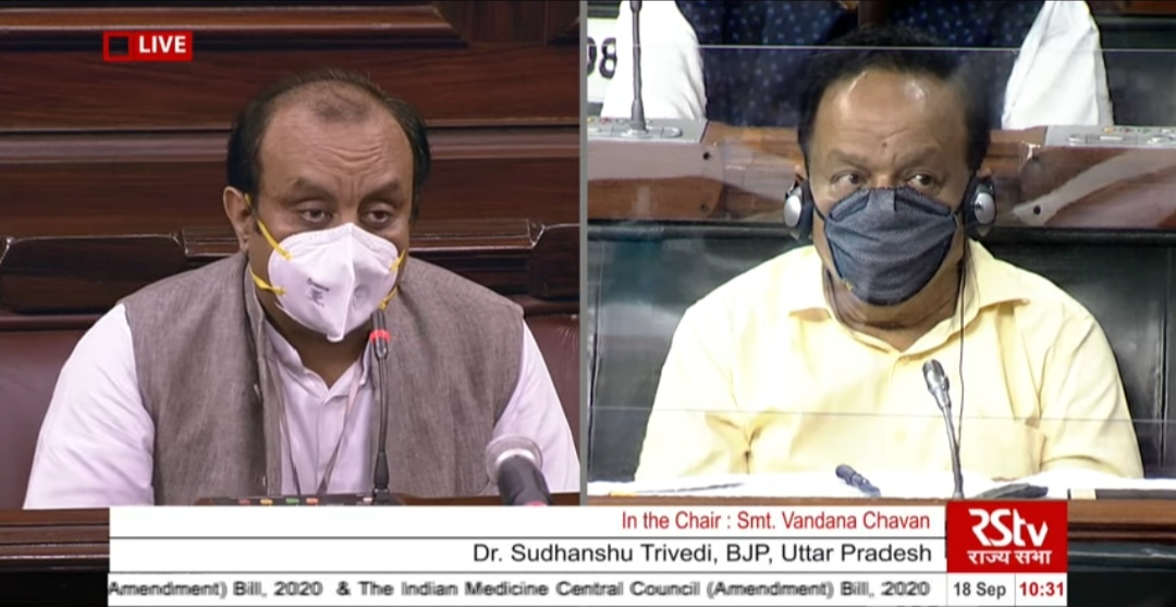MP Sudhanshu Trivedi calls for evolving research in Homeopathy, Ayurveda in Rajya Sabha