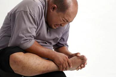 acute gout pain