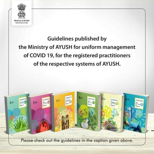 Ministry Of AYUSH Has Published Guidelines For AYUSH Practitioners For COVID-19