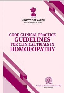 World Homoeopathy Day 2021 : Ministry of AYUSH Published 'Good clinical practices for clinical trials in Homoeopathy'